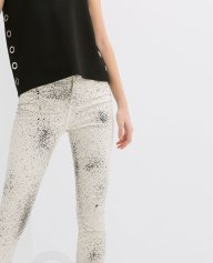 Zara Speckled Trousers