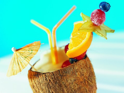 tropical-coconut-drink