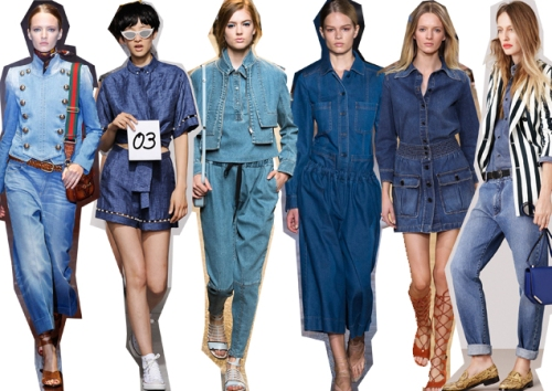 DOUBLE DENIM RUNWAY